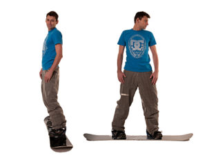 Snowboard Body Rotation - Minus